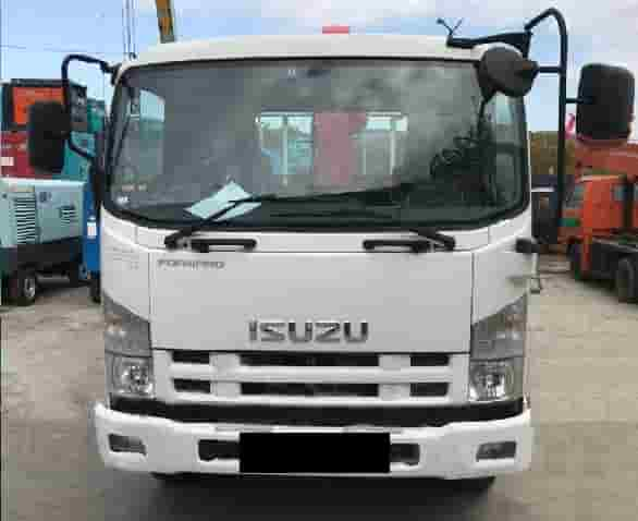 ISUZU FORWARD Unic Ucan Super vid speredi